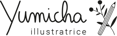 Yumicha_Illustratrice_Bordeaux_logo